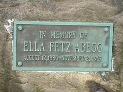 Ella <i>Fetz</i> Abegg
