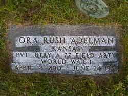 Ora Rush Adelman