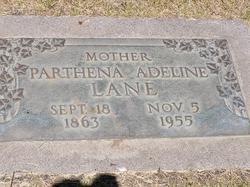 Parthena Adeline <i>Whitaker</i> Lane
