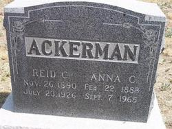 Reid C Ackerman