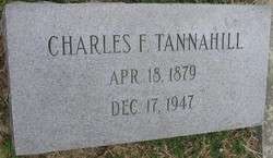 Charles F Tannahill