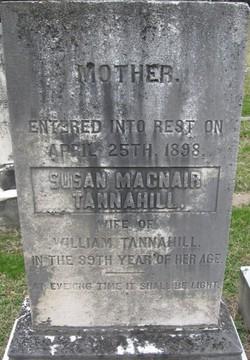 Susan <i>MacNair</i> Tannahill