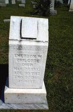 Emerson Woodward Chilcote