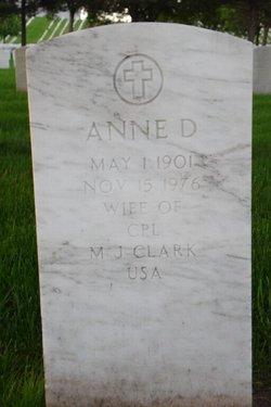 Anne D Clark