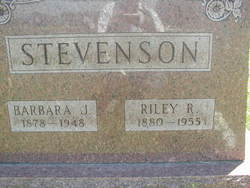 Barbara Jane <i>Cochran</i> Stevenson