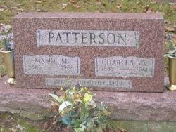 Wilhemina Mamie Matilda <i>Krieg</i> Patterson