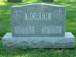Susanna <i>Binder</i> Borer
