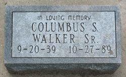 Columbus J Walker