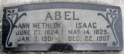 Ann <i>Methley</i> Abel