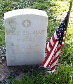 Sgt Louis Belshaw