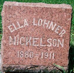 Ella K. <i>Lohner</i> Nickleson