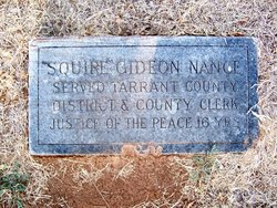 Gideon Squire Nance