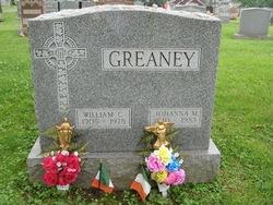 JOHANNA M <i>HORAN</i> GREANEY