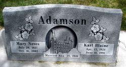 Karl Blaine Adamson