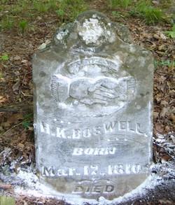 Hezekiah K Boswell
