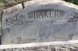 Winnie M Baker