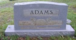 Ora Elizabeth <i>Jackson</i> Adams
