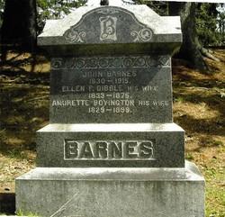 Ellen P. <i>Dibble</i> Barnes