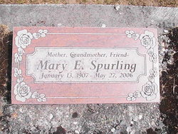 Mary E Spurling