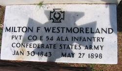 Dr Milton Fillmore Westmoreland