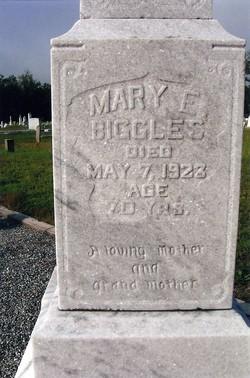 Mary Elizabeth <i>Pearson</i> Biggles