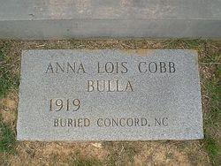 Anna Lois <i>Cobb</i> Bulla