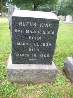 Maj Rufus King, Jr