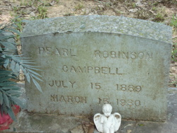 Pearl Lathena <i>Robinson</i> Campbell