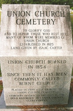 Union Primitive Baptist Church Cemetery