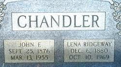 Lena <i>Ridgeway</i> Chandler