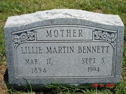 Lillie <i>Gilmore</i> Bennett