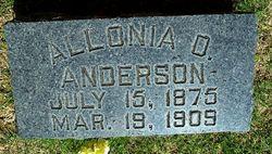 Allonia Otto Anderson
