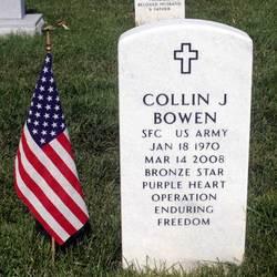 Sgt Collin J. Bowen