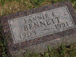 Fannie F <i>Gideon</i> Bennett