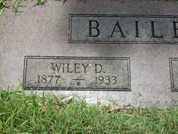 Wiley D Bailey