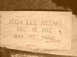 Rosa Lee <i>Helms</i> Brown