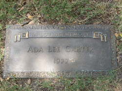 Ada Lee Carter
