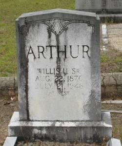 Willis Uriah Arthur, Sr