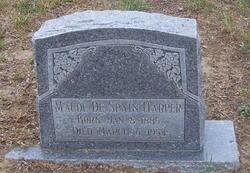 Maude <i>De Spain</i> Harper