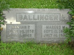Hannah Prudence <i>Frost</i> Ballinger