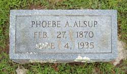 Phoebe Ann <i>Speer</i> Alsup