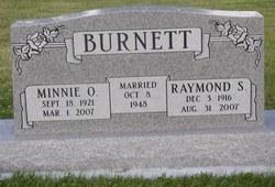 Minnie <i>Oostyen</i> Burnett
