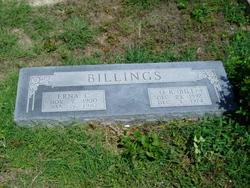 Julia Erna <i>Carrell</i> Billings