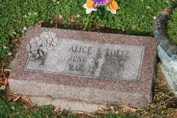 Alice E Foltz