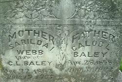 Sarilda I. <i>Webb</i> Baley
