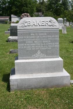 Lydia <i>Welty</i> Baker