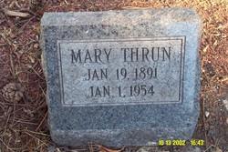 Mary A <i>Miller</i> Thrun