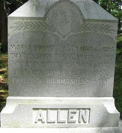 Maria Porter <i>Hitchcock</i> Allen