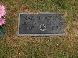 Mae <i>Messinger</i> Adkins