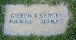 Georgia K. Whitney